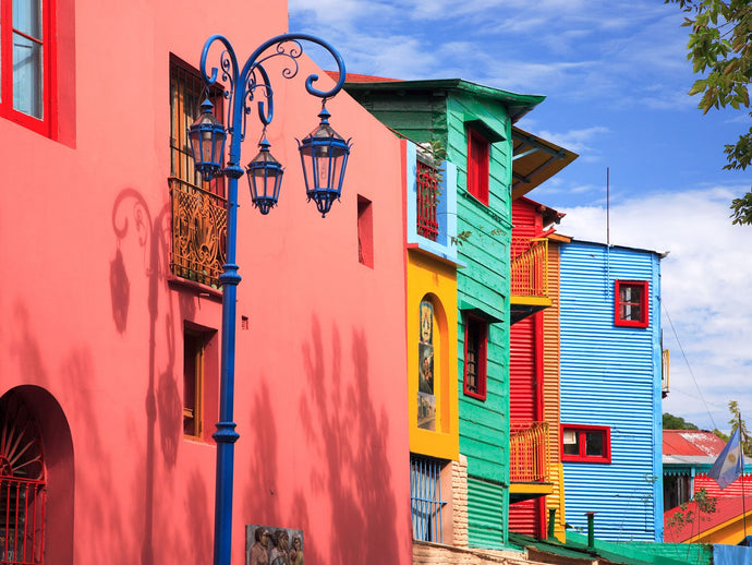Brighten your day in La Boca