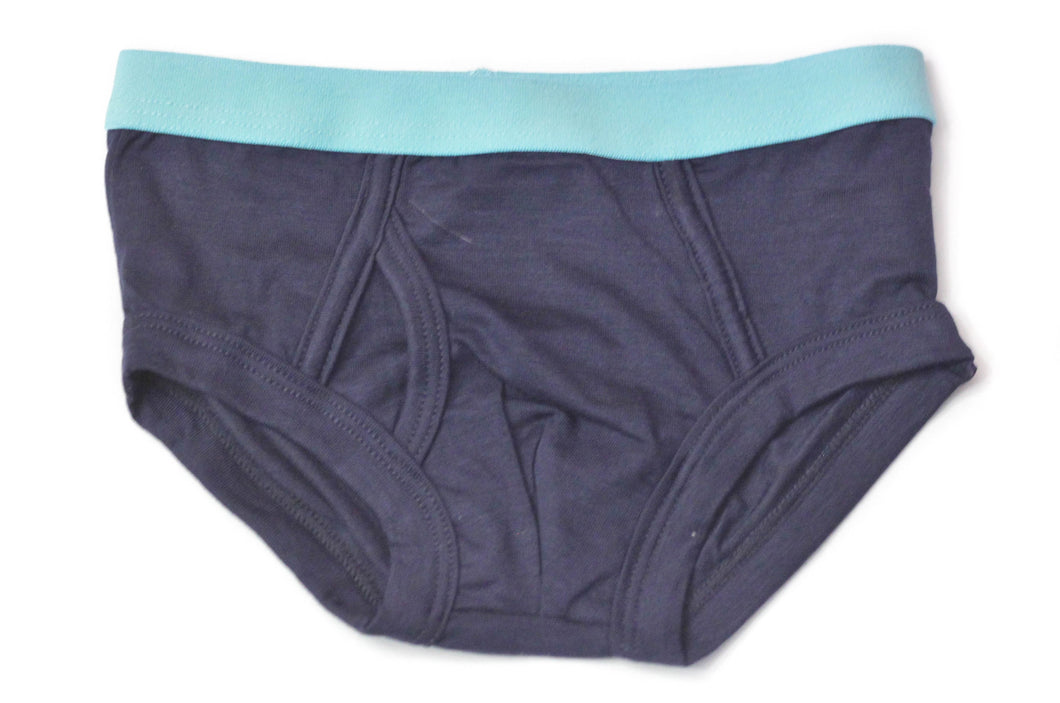 Boys Bamboo Underwear (Dark Blue) - Toddler, kids, baby