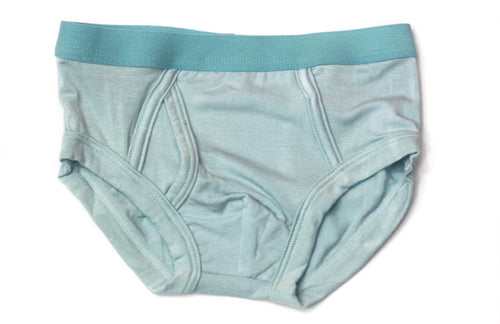 Boys Bamboo Underwear (Light Blue) - Toddler, kids, baby