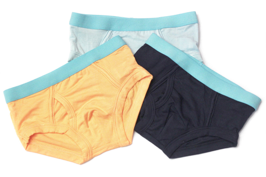 Boys Bamboo Underwear (3-Pack) - Toddler, kids, baby