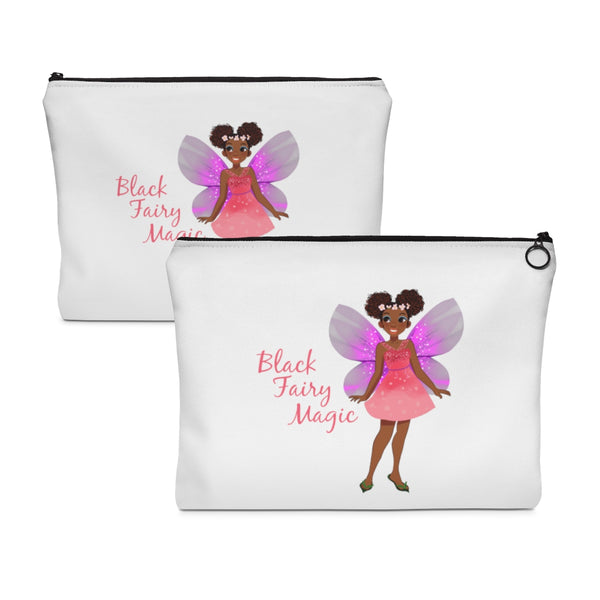 Black Fairy Magic Pouch - Flat