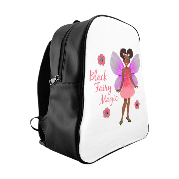 Black Fairy Magic School Backpack
