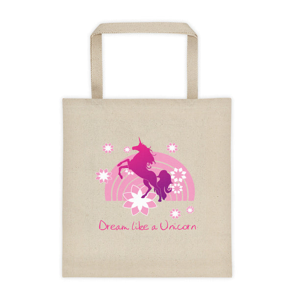 Dream like a Unicorn Tote bag (Pink) - The Fairy Princess Store