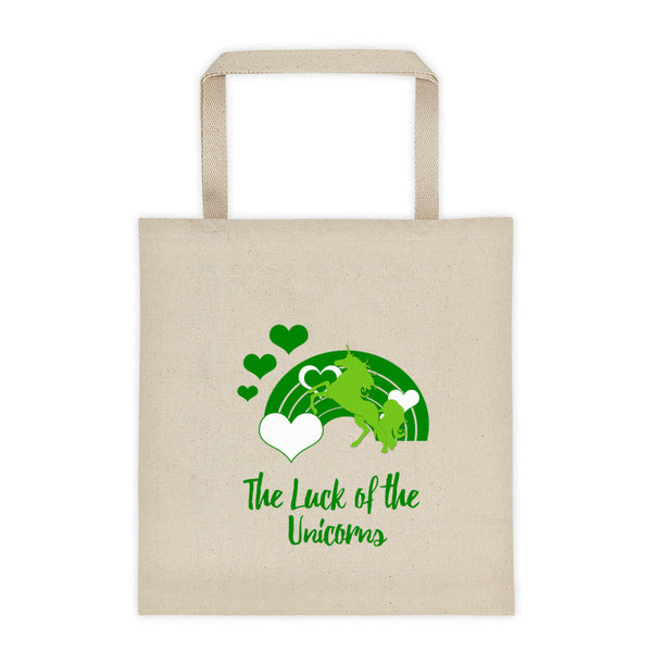 The Luck of the Unicorns Tote bag - The Fairy Princess Store