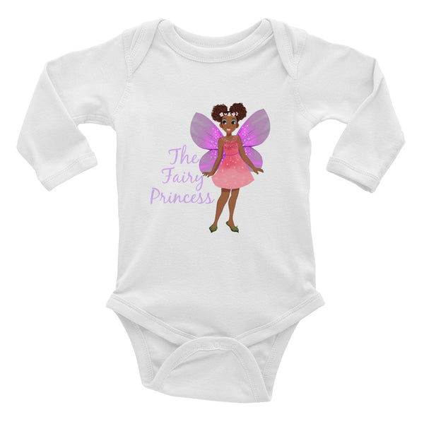 Fairy Princess Infant Long Sleeve Onesie