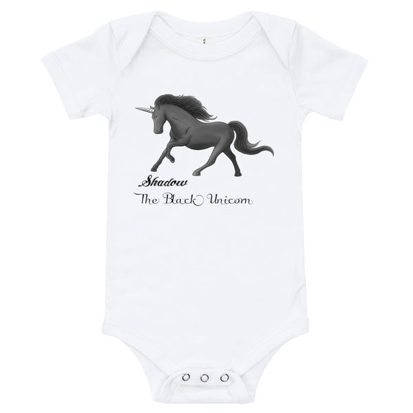 Shadow baby onesie