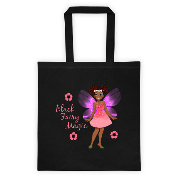 Black Fairy Magic Tote bag 2 - The Fairy Princess Store