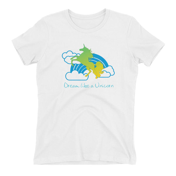 Dream Like a Unicorn Boyfriend Tee - The Fairy Princess Store