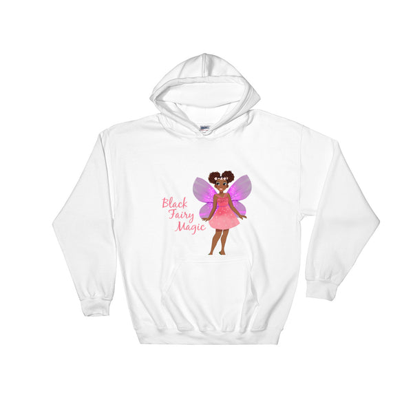 Black Fairy Magic Hooded Sweatshirt