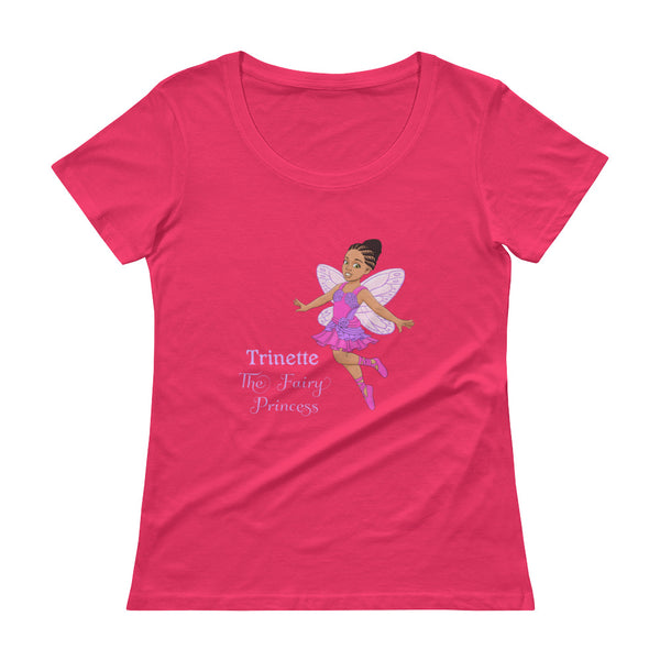 Trinette Ladies' Scoopneck T-Shirt