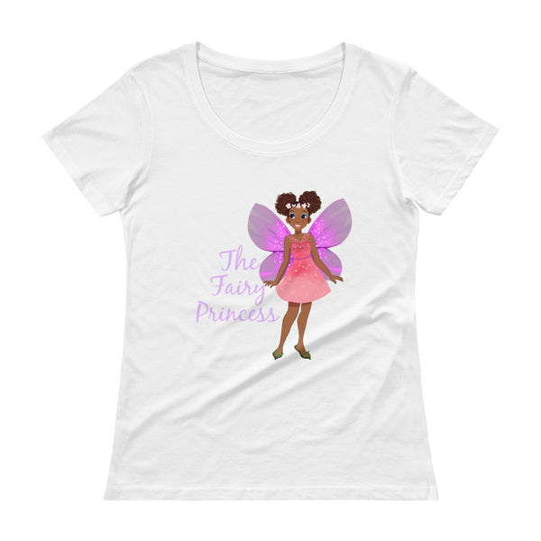 Fairy Princess Ladies' Scoopneck T-Shirt - The Fairy Princess Store