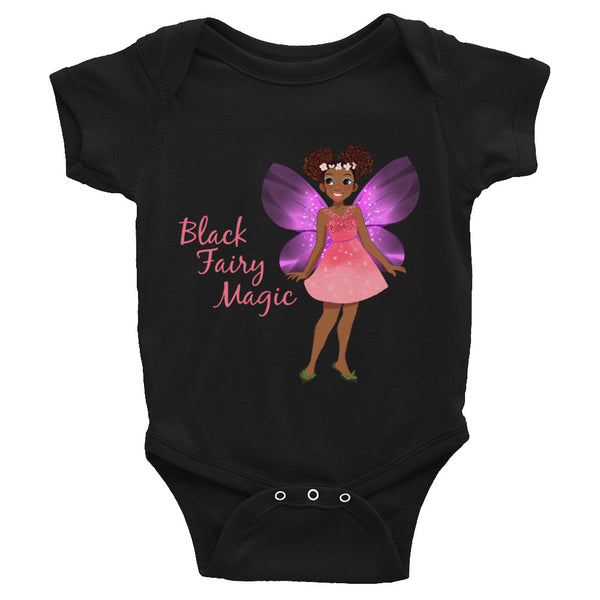 Black Fairy Magic Infant Bodysuit