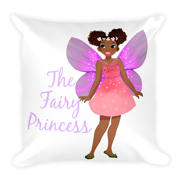 Fairy Princess Square Pillow - The Fairy Princess Store
