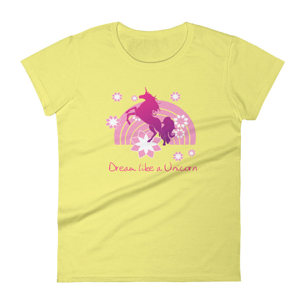 Dream Like a Unicorn short sleeve t-shirt