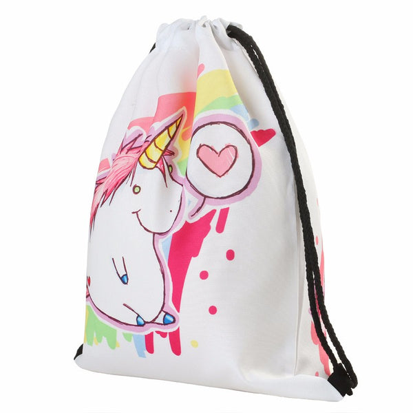 Unicorn Drawstring Backpack - The Fairy Princess Store