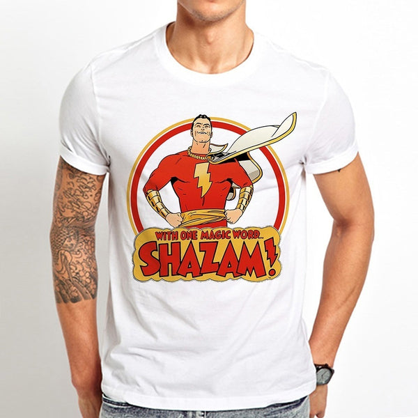 Captain Marvel Shazam T-shirt