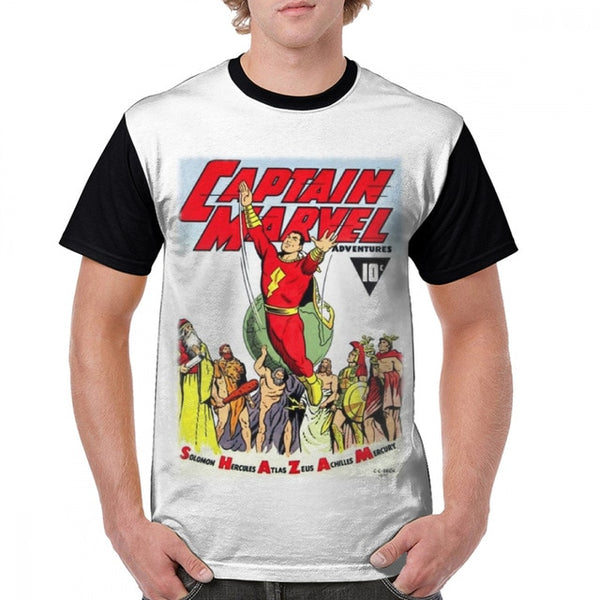 Retro Captain Marvel T-shirt