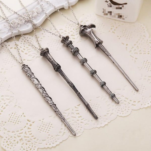 Harry Potter Wand Necklaces - The Fairy Princess Store