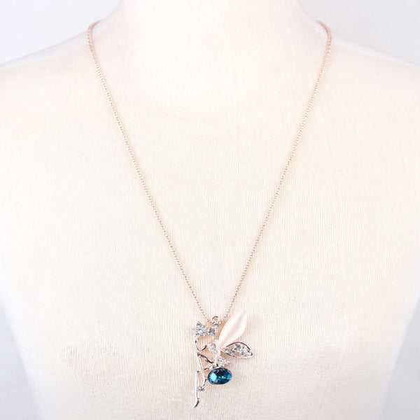 Opal Fairy pendant necklace - The Fairy Princess Store