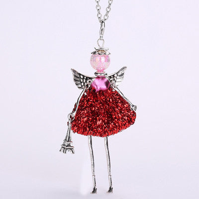 Handmade Fairy Pendant Necklace - The Fairy Princess Store