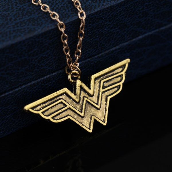 Wonder Woman Pendant Necklace - The Fairy Princess Store