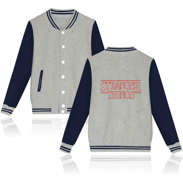 Stranger Things Capless Baseball Hoodies