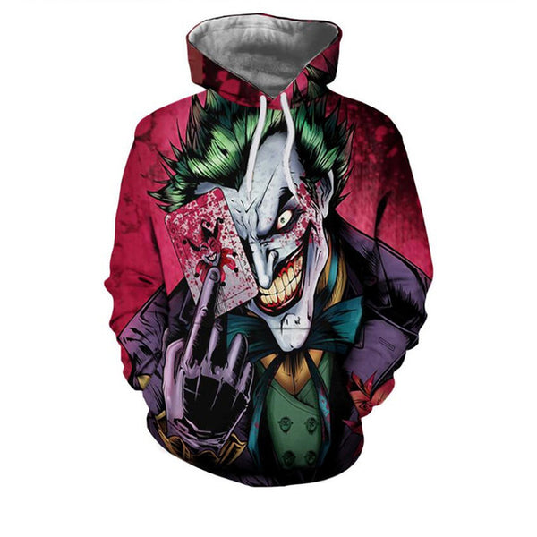 Stranger Things/Joker Hoodies