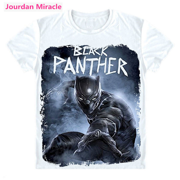 Black Panther Cast T Shirt Marvel