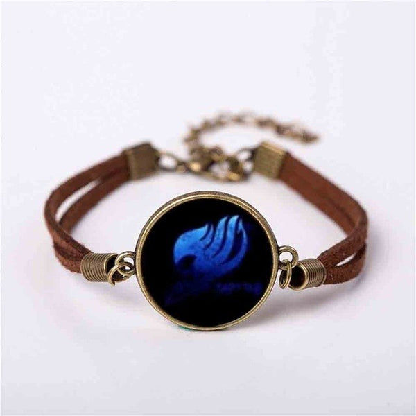 Fairy Tail Guild Leather Wing Bracelet