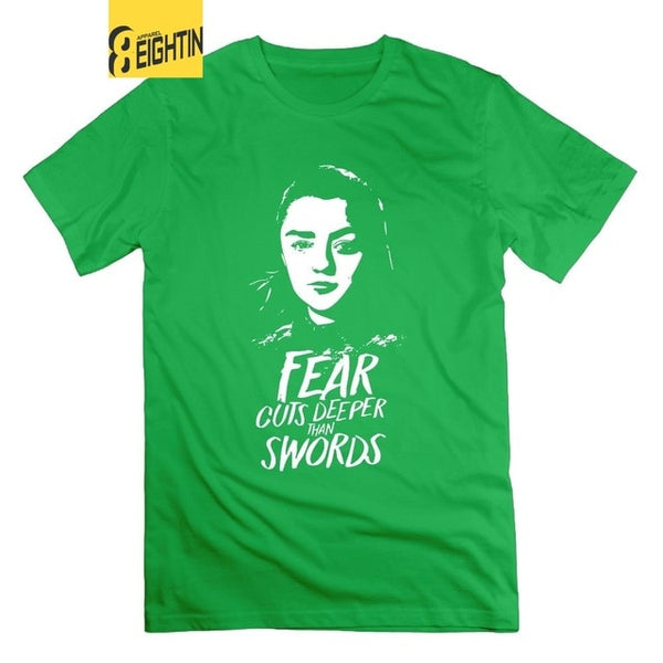 Game of Thrones Arya Stark Fear Cuts Deeper T-Shirt