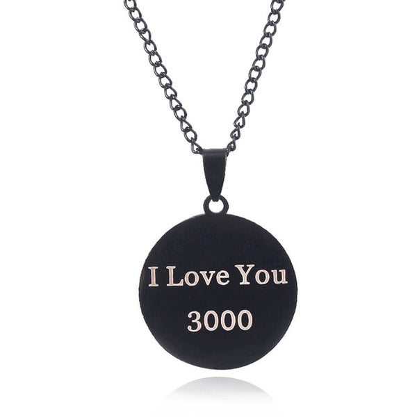 Avengers Endgame I Love You 3000 Necklace