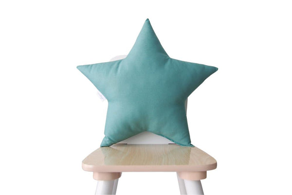 sage star pillow