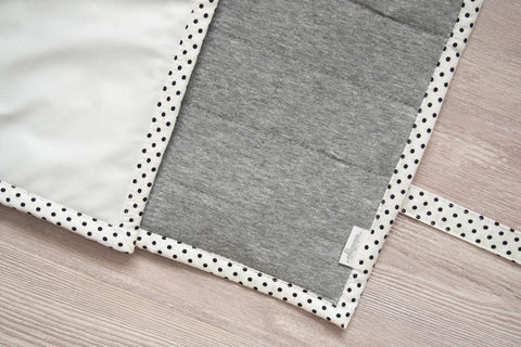 Gray Heather Changing Mat