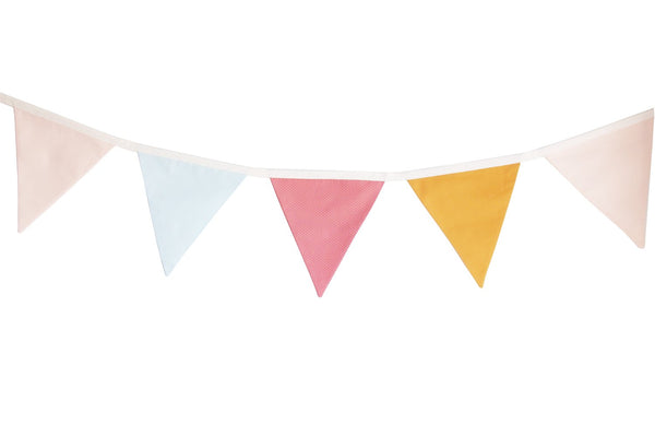 Light Pink and Mustard bunting