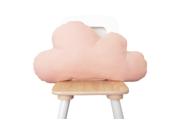pink blush cloud pillow