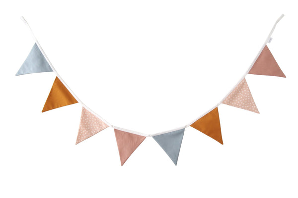 Dusty Pink Flag Bunting