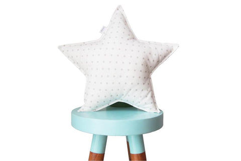 off-white star pillow