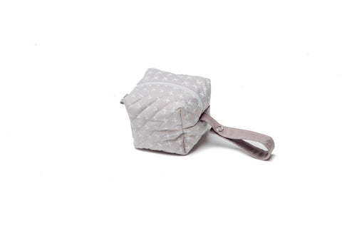 Light Gray Pacifier Bag