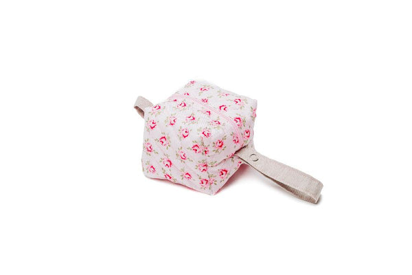 Pink Roses Pacifier Bag