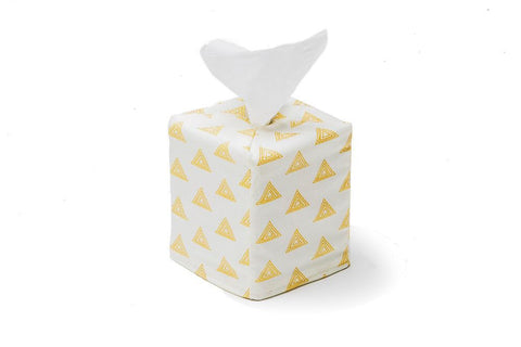 Ivory Tissue Box Cover