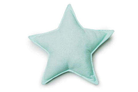 mint star pillow