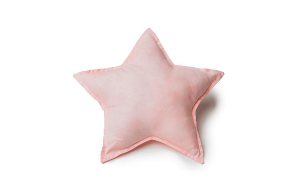 coral star pillow