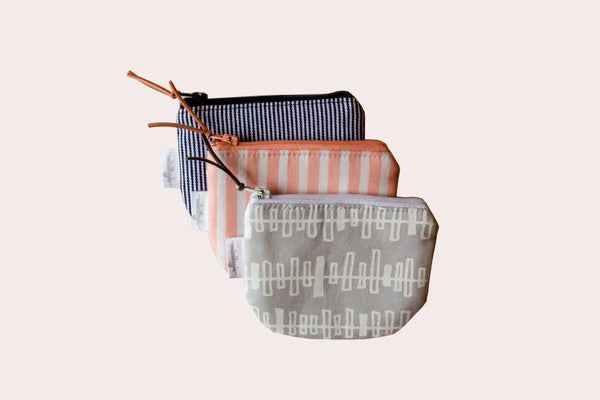 striped pacifier bags