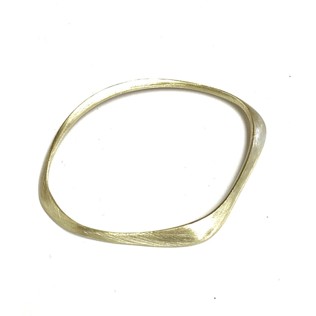 Brush Gold Bangle!