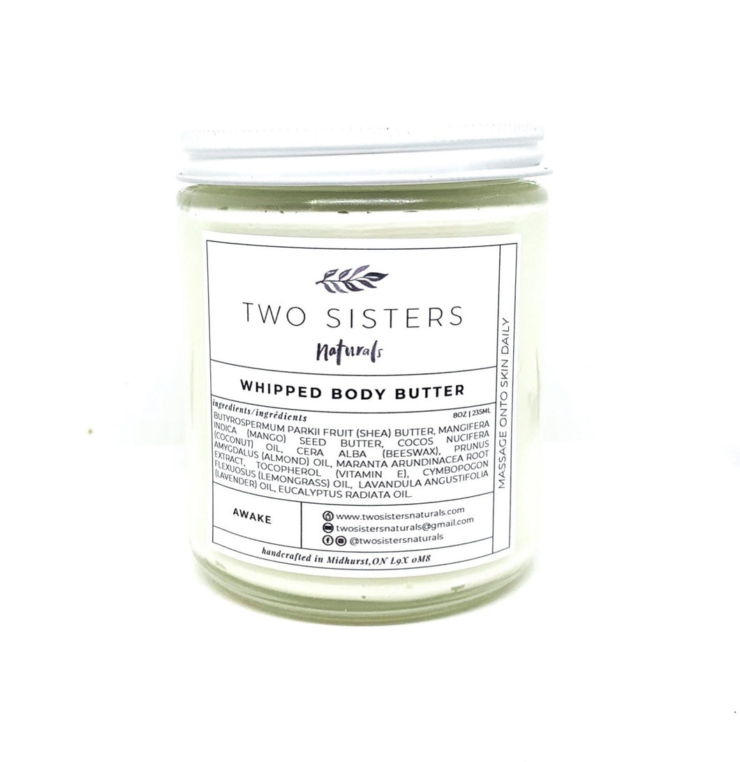 Whipped Body Butter!  Awake!