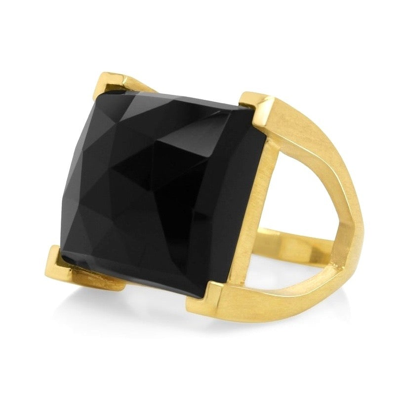 Black Onyx Plaza Ring!