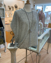Fraas Cashmere Coverup With Sleeves. Frost!