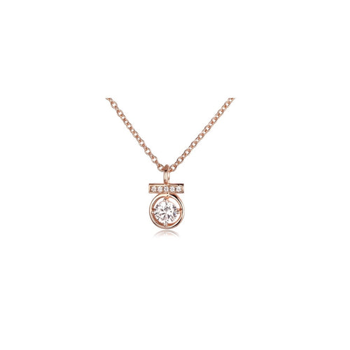 Dainty Rose Gold Necklace!