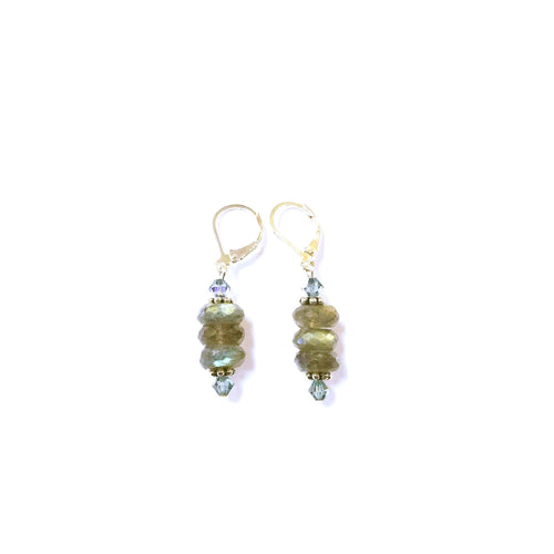 Exquisite Labradorite Earrings
