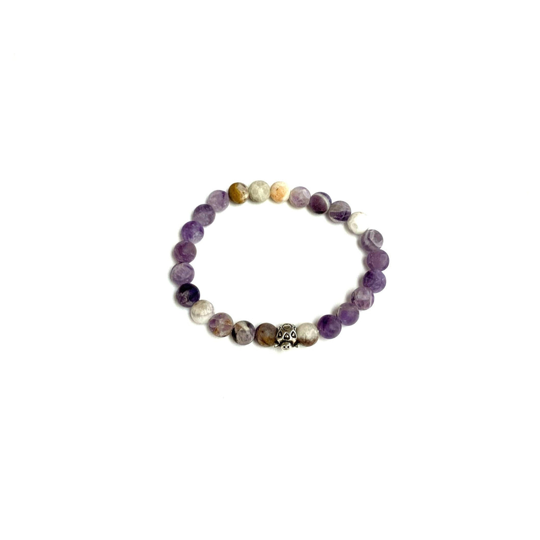 BZen Frosted Amethyst and Turtle Bracelet!